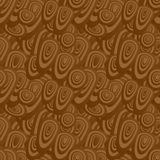 Brown seamless background. Brown seamless oval pattern background Royalty Free Stock Photo