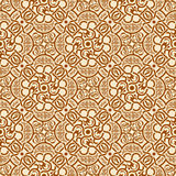Brown seamless ornament Royalty Free Stock Photography