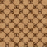 Brown seamless pattern Stock Images