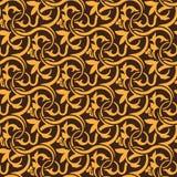 Brown seamless pattern Royalty Free Stock Image
