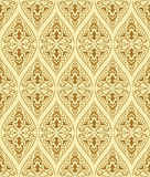 Brown seamless pattern Royalty Free Stock Image