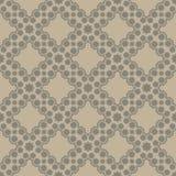 Brown seamless pattern Royalty Free Stock Photos