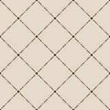 Brown seamless pattern Stock Photos