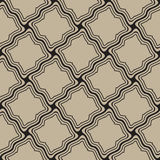 Brown seamless pattern Stock Photography