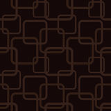 Brown seamless pattern with squares Stock Photo