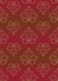 Brown seamless a pattern. Vector illustration Royalty Free Stock Photos