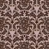 Brown seamless wallpaper Stock Images