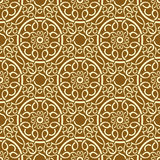 Brown seamless wallpaper Royalty Free Stock Photo