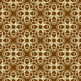 Brown seamless wallpaper Royalty Free Stock Images