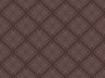 Brown seamless wallpaper pattern Royalty Free Stock Images