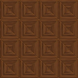 Brown seamless wood Royalty Free Stock Image