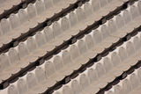 Brown seats. In the amphitheatre Royalty Free Stock Image