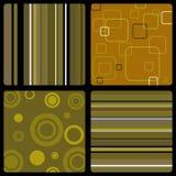 brown seventies wallpaper Στοκ εικόνες με δικαίωμα ελεύθερης χρήσης