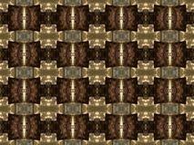 Brown Shapes and Patterns Royalty Free Stock Photography