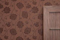 Brown shelves stock photos
