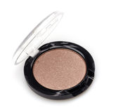 Brown shiny eye shadows Stock Photography