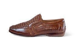 brown shoe Стоковое фото RF