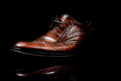 Brown Shoe stock images