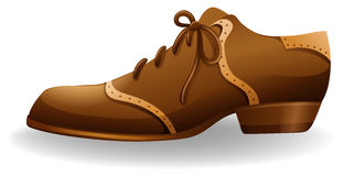 Brown shoe Royalty Free Stock Photography