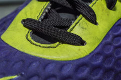Sports silk shoelace Stock Photos