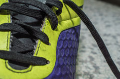 Sports silk shoelace Stock Photography