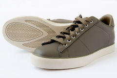 Brown Shoes. Royalty Free Stock Photography