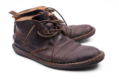 Brown shoes Royalty Free Stock Photo