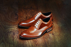 Brown Shoes Royalty Free Stock Image