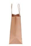 Brown shopping bag Royalty Free Stock Image