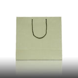 Brown shopping bag Stock Images