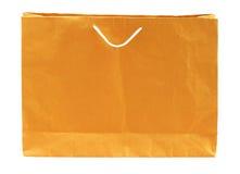 Brown shopping bag Stock Photography