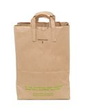 Brown Shopping Bag Royalty Free Stock Photos