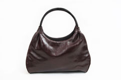 Brown Shoulder bag royalty free stock photo