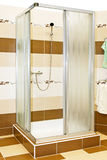 Brown shower Stock Photography