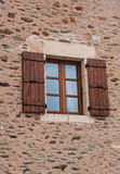 Brown Shutters Royalty Free Stock Photography