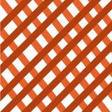 Brown siatki criss krzyżują symetrycznego deseniowego abstrakcjonistycznego tło royalty ilustracja