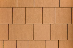 Brown siding Royalty Free Stock Image