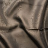 Brown silk cloth material fragment Royalty Free Stock Photo