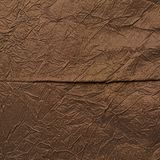 Brown silk cloth material fragment Stock Photo