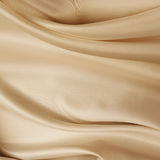 Brown silk fabric. Closeup of lines in brown silk fabric stock images