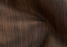 Brown silk fabric texture. Stock Photography