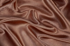 Brown silk texture satin velvet material or elegant wallpaper de Royalty Free Stock Photography