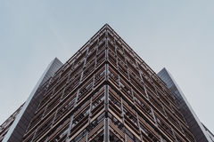 Brown and Silver Building Royalty Free Stock Photography