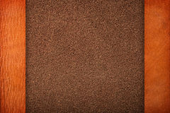 Brown skóra fotografia royalty free