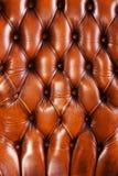 Brown skóry tekstura obraz stock