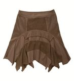 Brown skirt Stock Photography