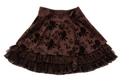 Brown  skirt Royalty Free Stock Photo
