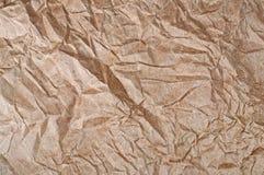 brown skrynkligt papper Royaltyfria Foton