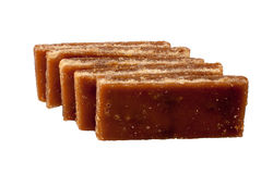 Brown slab sugar Stock Photo