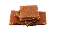 Brown slab sugar Royalty Free Stock Photography